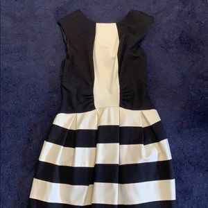 Super cute Black & White Fun dress